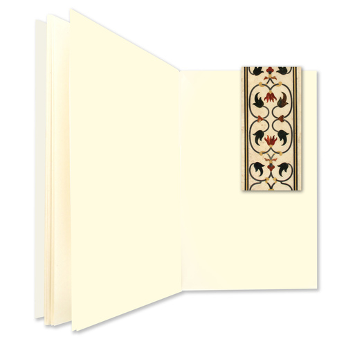 NOTE BOOKS WITH BOOKMARK - Taj Mahal Detail