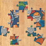 MAGNETIC MESSAGE PUZZLE - Bengal Pat