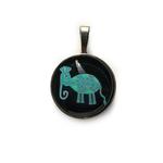 Art Pendant - Bhil Elephant