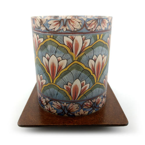 Tea Light Cover with Stand - City Palace Lotus
