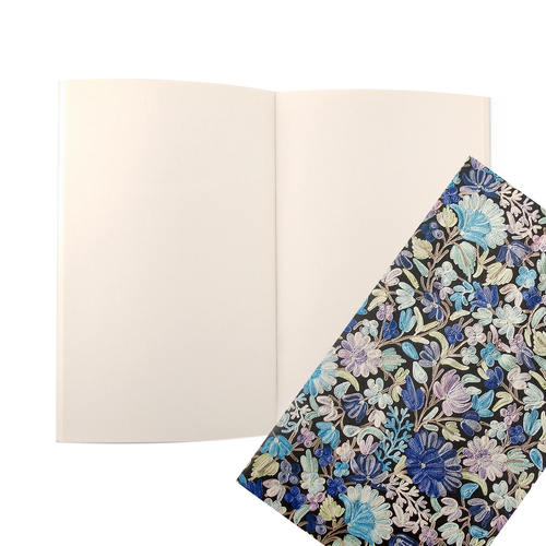 NOTE BOOKS A5 - Aari-Shawl (Blue)