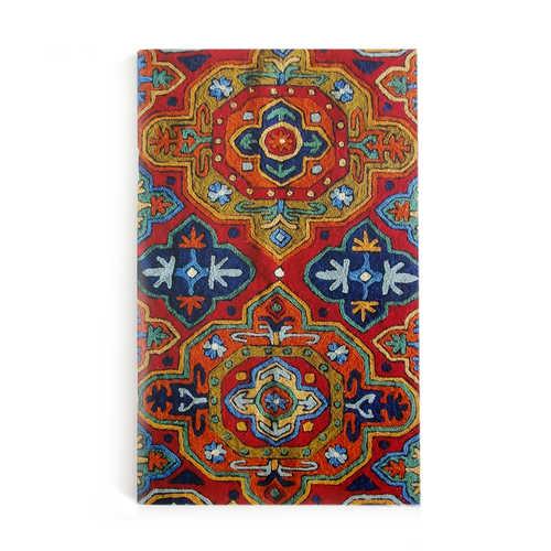 NOTE BOOKS A5 - Aari- Carpet (Red)