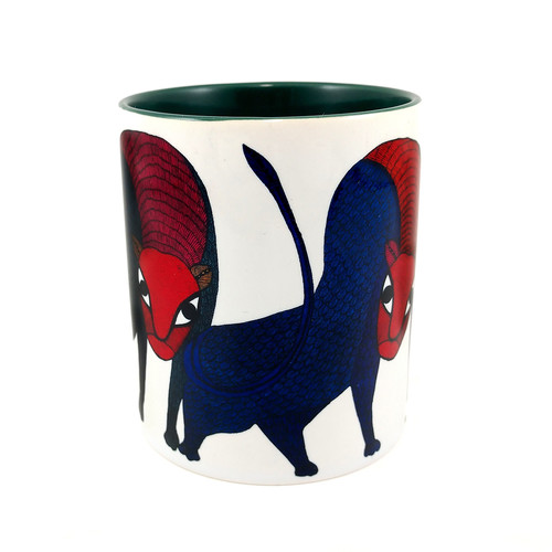 MUGS - Gond Leopards twins