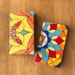 NOTE BOOKS _ SET OF 2 - Stained Glass CSMT