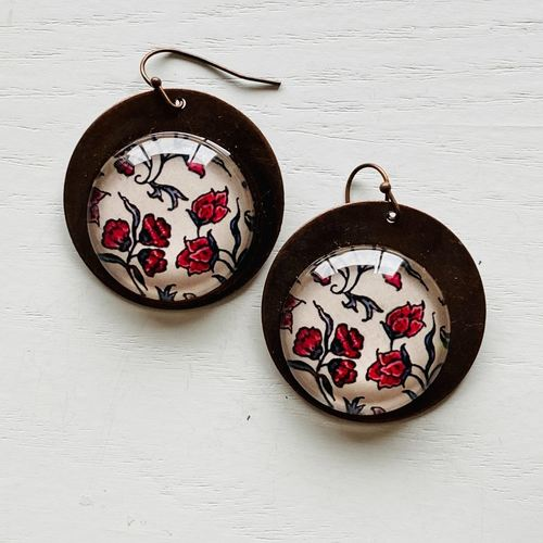 Earrings - Poppy