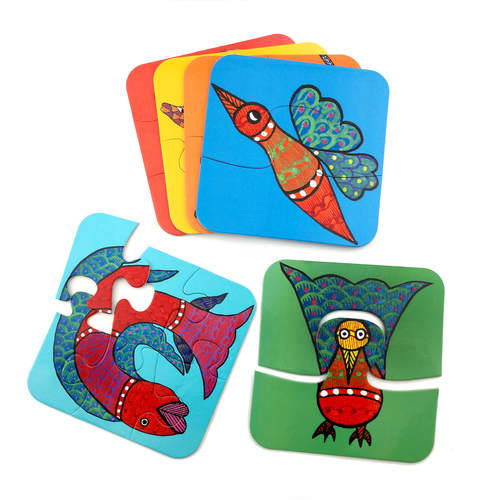 Toddler Puzzle - Gond