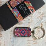 KEY RING - Detail - Aari carpet, Kashmir