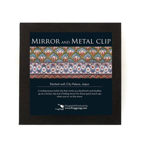 GIFT BOX _ MIRROR AND METAL CLIP - City Palace