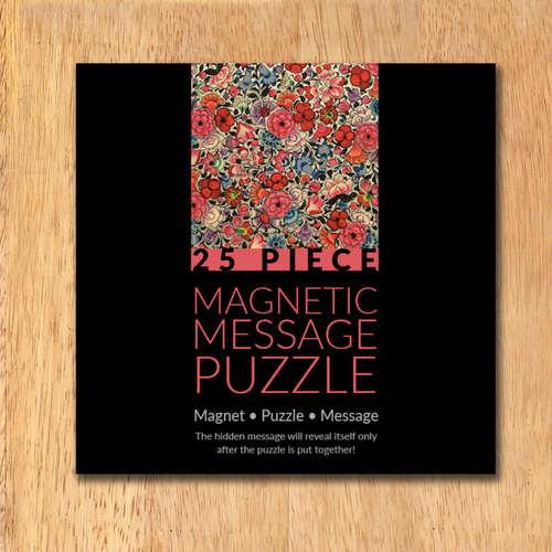 MAGNETIC MESSAGE PUZZLE - Naqashi