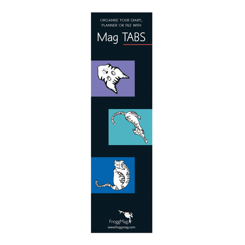 MAG TABS - Blue Cats