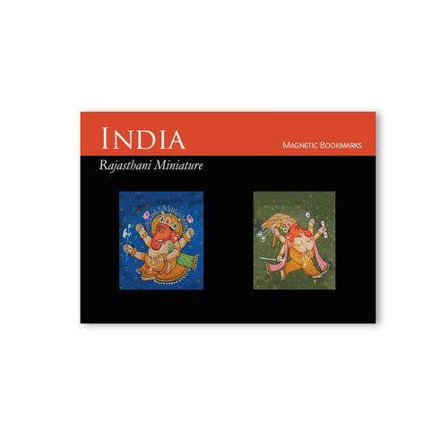 BOOK MARKS SET OF 2 - Ganesha