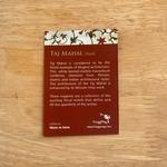 FRIDGE MAGNETS Set of 4 - Taj Mahal, inlay details