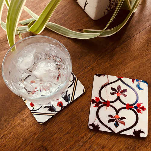 COASTERS _ SET OF 2 - Taj Mahal