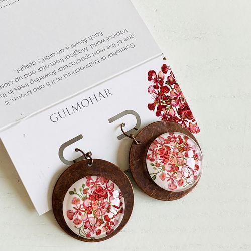 Earrings - Gulmohar