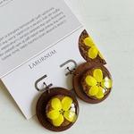 Earrings - Laburnum