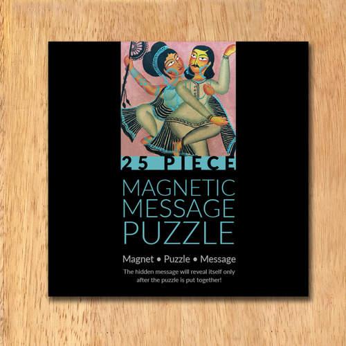 MAGNETIC MESSAGE PUZZLE - Kalighat Pat