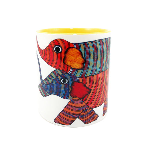 MUGS - Gond Elephants