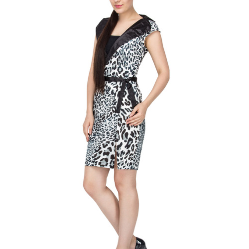 Kyra Black Leo Sharp Dress
