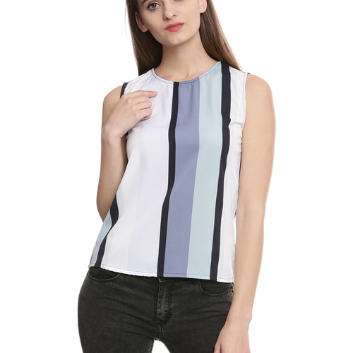 Sara Color Block Top