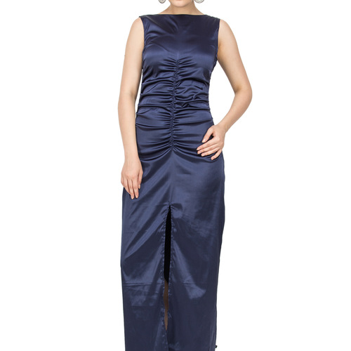 Blue Star Satin Gown