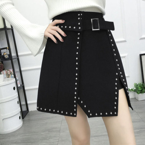 Beaded Hottest Selling Black Skirt
