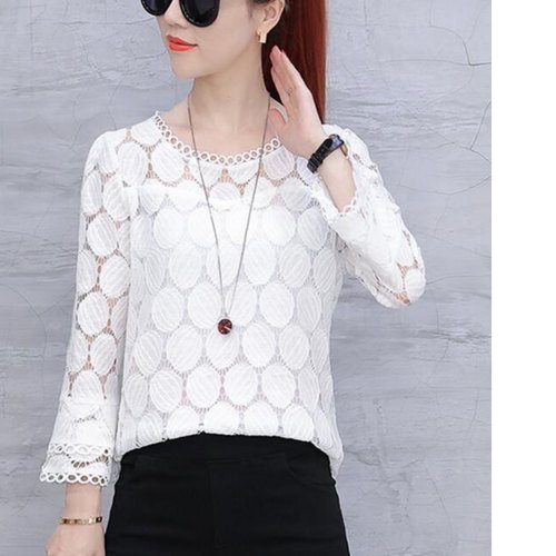 White Lace Designer Top