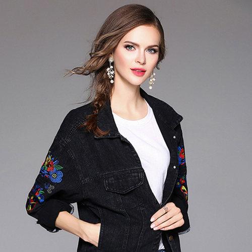 Embrodiered Denim Jacket