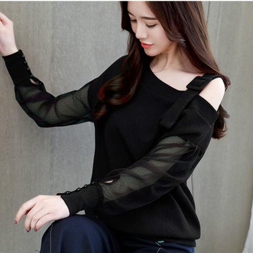 Stylish Black Strappy Top