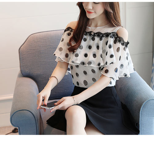 Polka Dot Designer Top
