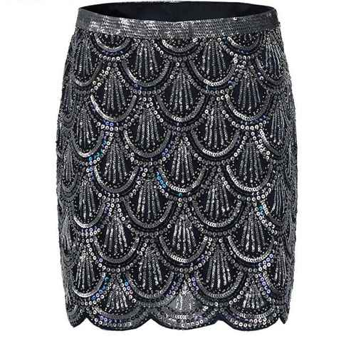 Sequin Work Night Out Skirt