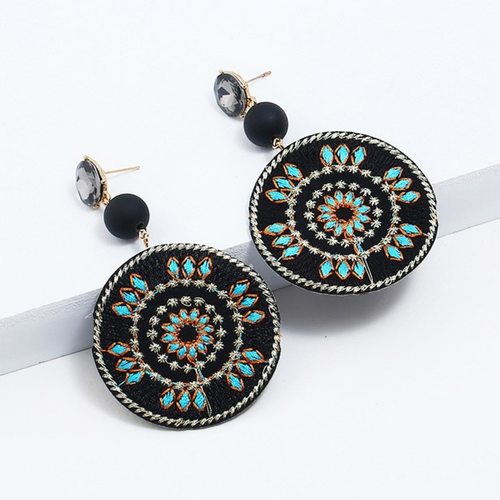 Geometric Pattern Earring