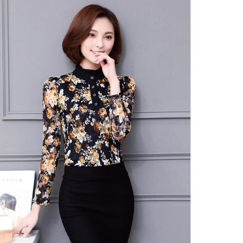 Floral Frenzy Lace Top