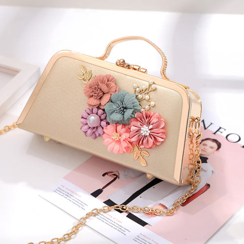 Floral Party Clutch Bag