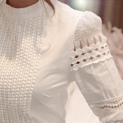 Cut-Sleeve Pattern Top