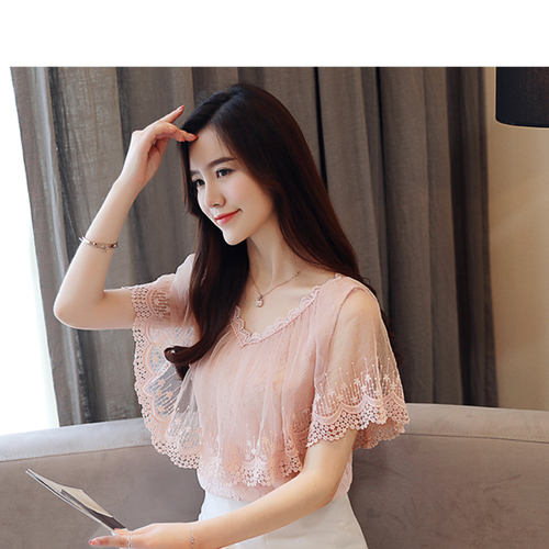 Boat Neck Party Wear Lace Top