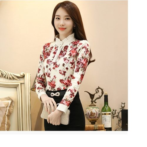 Floral Lace Designer Top