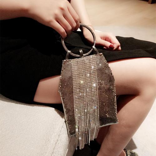 Fringe Sequin Work Party Bag