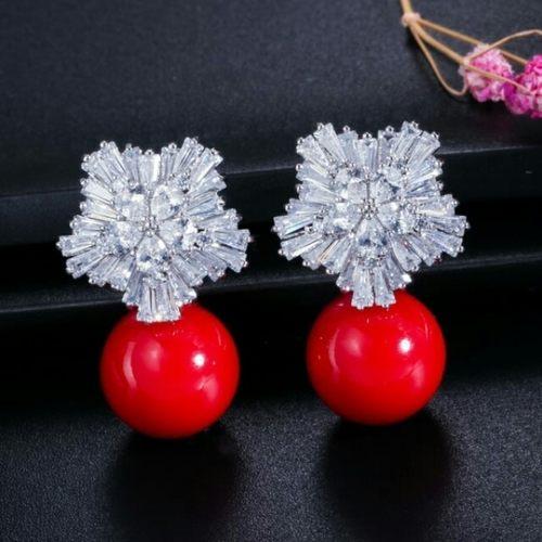 Cubic Zirconia Luxury Earrings