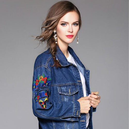 Embrodiered Denim Jacket