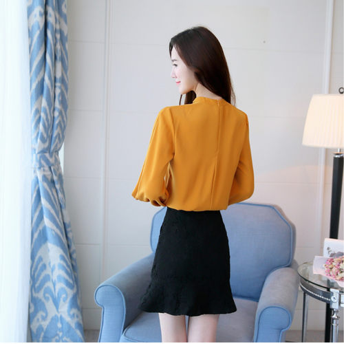 Mustard Long Sleeve Top