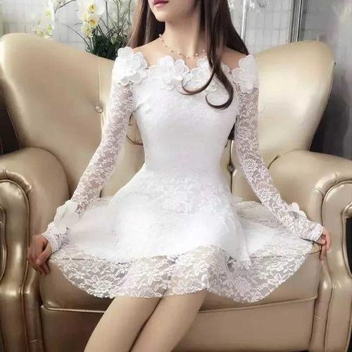Floral Lace Party Dress