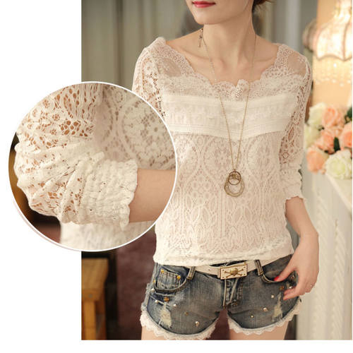 Lace Work Summer Top