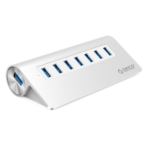 ORICO Aluminum Alloy 7 Port USB3.0 HUB with 30W Power Adapter (M3H7-V1)