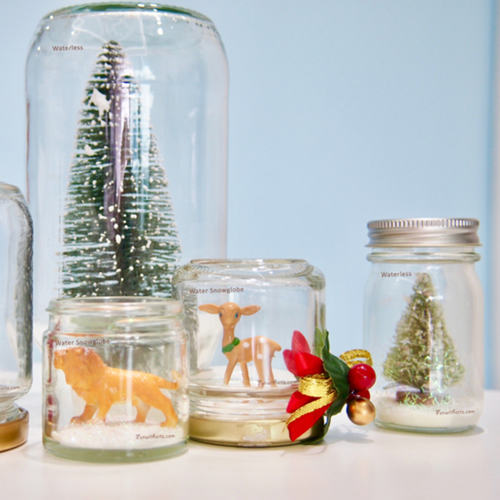 Workshop - Snowglobe making at Gardens by the Bay