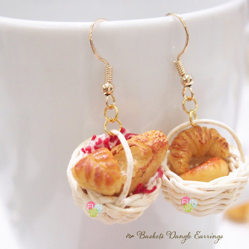 Workshop - Basket Breads Earrings