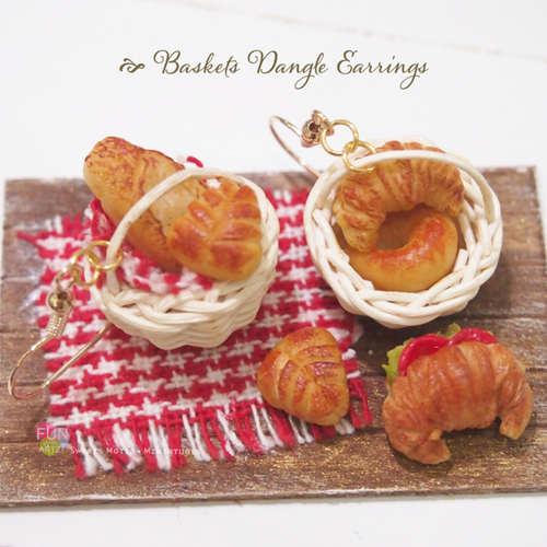 Workshop - Basket Breads Earrings
