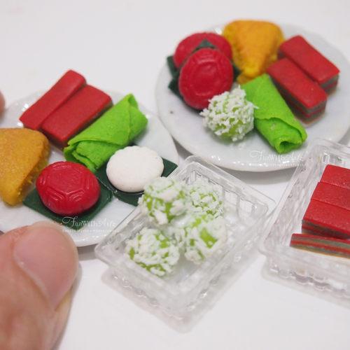 Miniature Nonya Plate with Tutu Kueh workshop