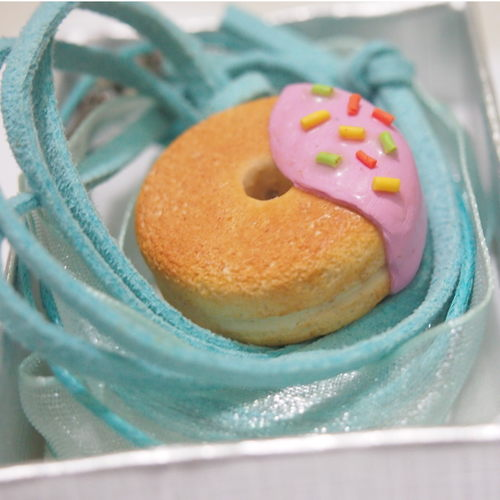workshop for polymer clay donut and cookie charms