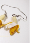 Jewelry - Banana Peeled Dangle Earrings