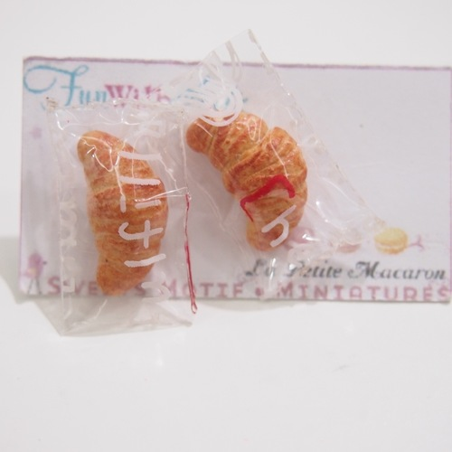 Jewelry - Croissant Earring Studs
